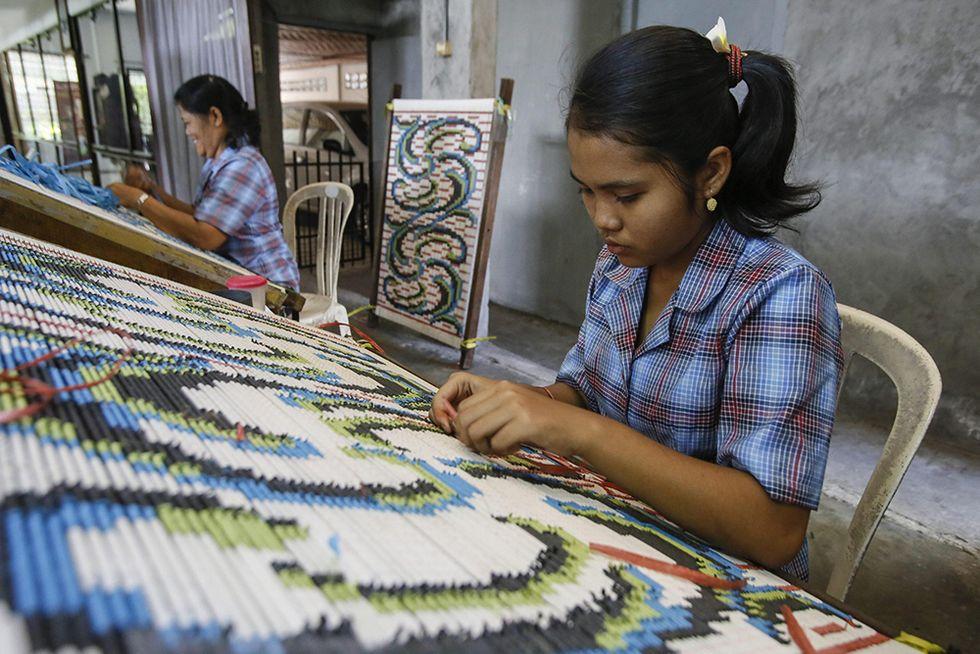 L'arte della tessitura a Bali