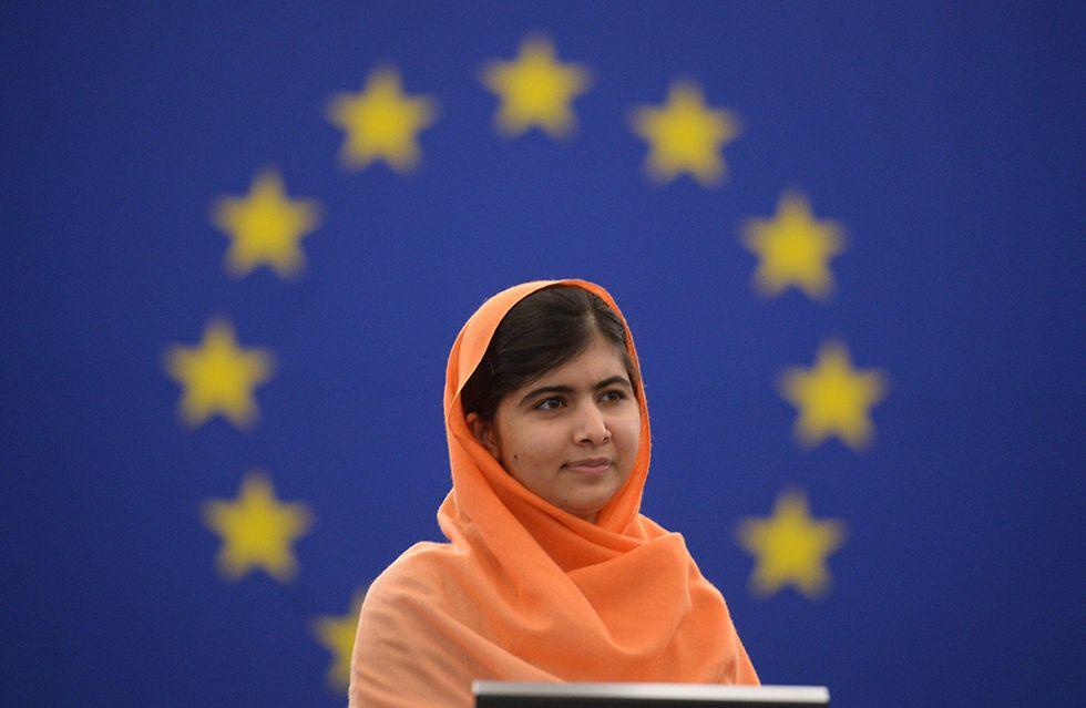 Il premio Sakharov a Malala e altre foto del giorno, 20.11.2013