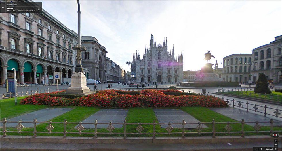 Google Street View per le strade di Milano