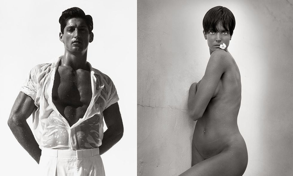 Herb Ritts In piena luce, la mostra a Roma