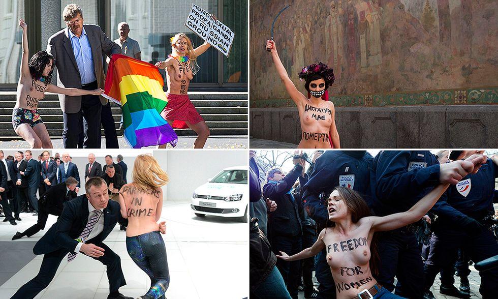 Le foto più belle del 2013 - Femen