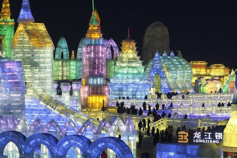Il Festival della neve e del ghiaccio di Harbin