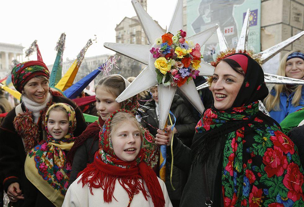 Il Natale ortodosso e altre foto del giorno, 7.1.2014