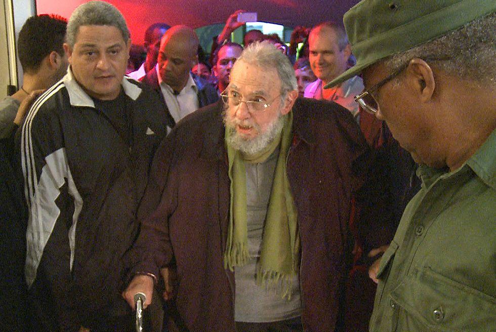 Fidel Castro riapparso in pubblico e altre foto del giorno, 10.1.2014