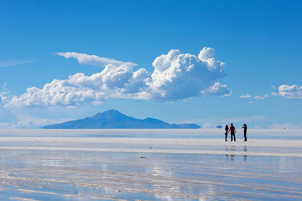Il lago salato di Uyuni, Bolivia