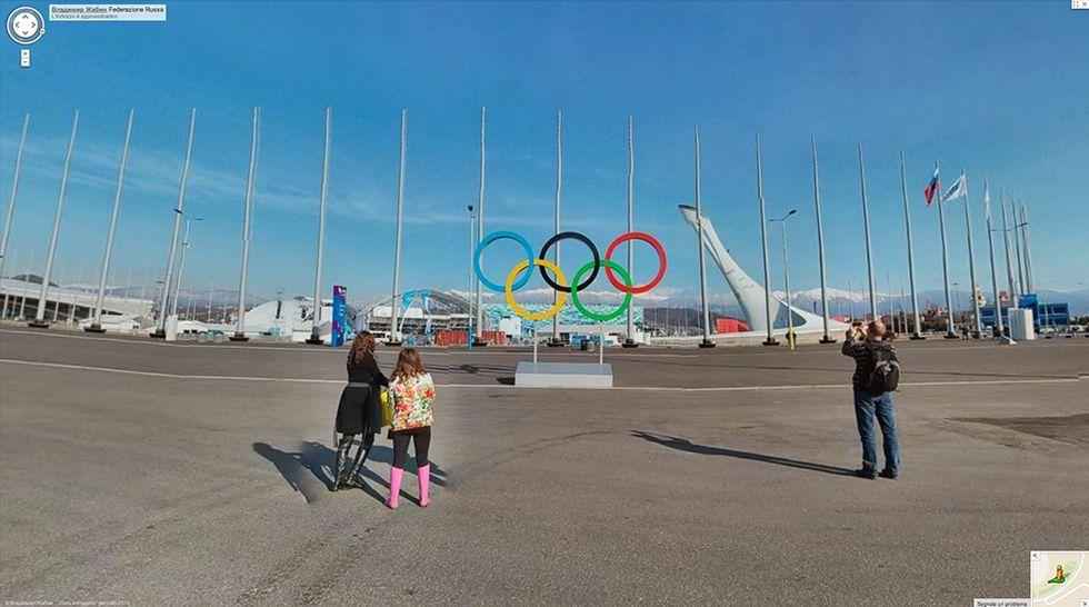 Google Street View a Sochi, in vista delle Olimpiadi