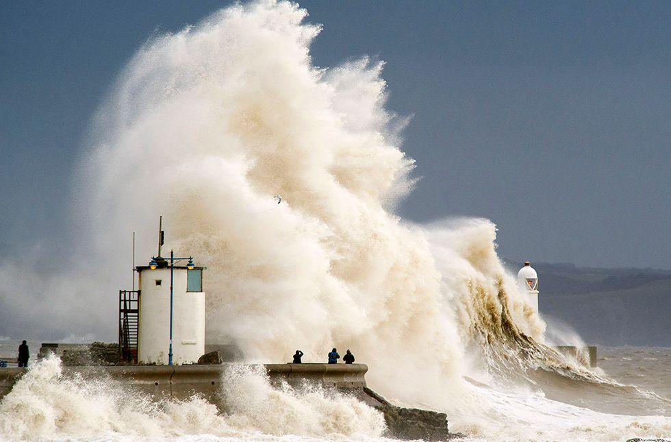 L'Atlantico in tempesta