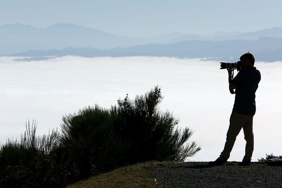 Fotografando la nebbia in Nuova Zelanda