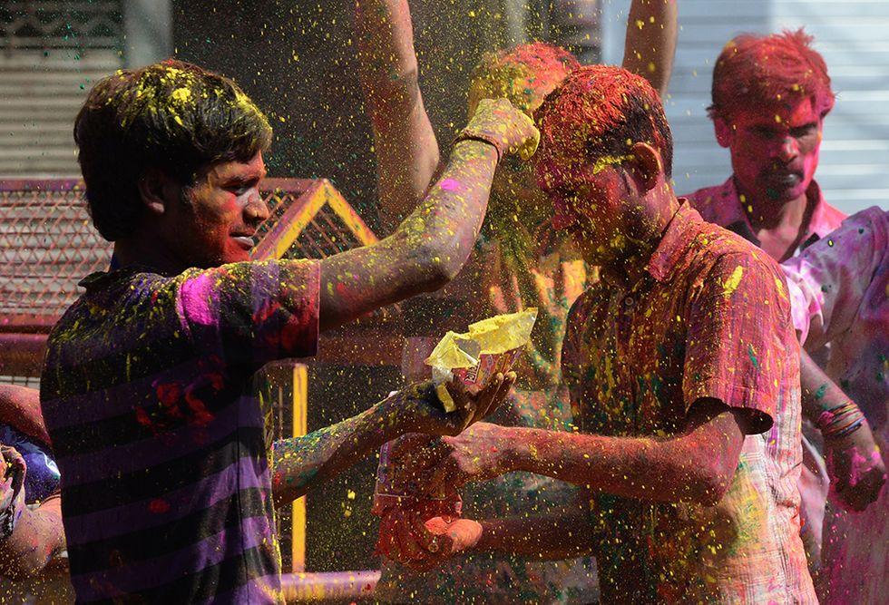 I colori della Festa di Holi, inno alla primavera