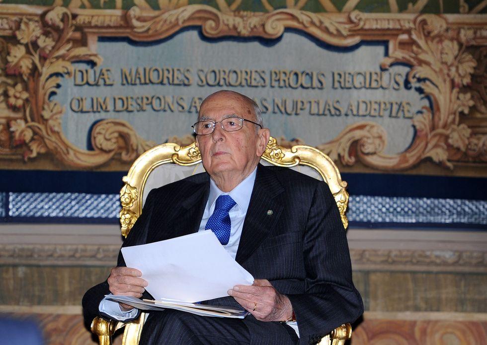 Napolitano e Monti, cala il grande freddo