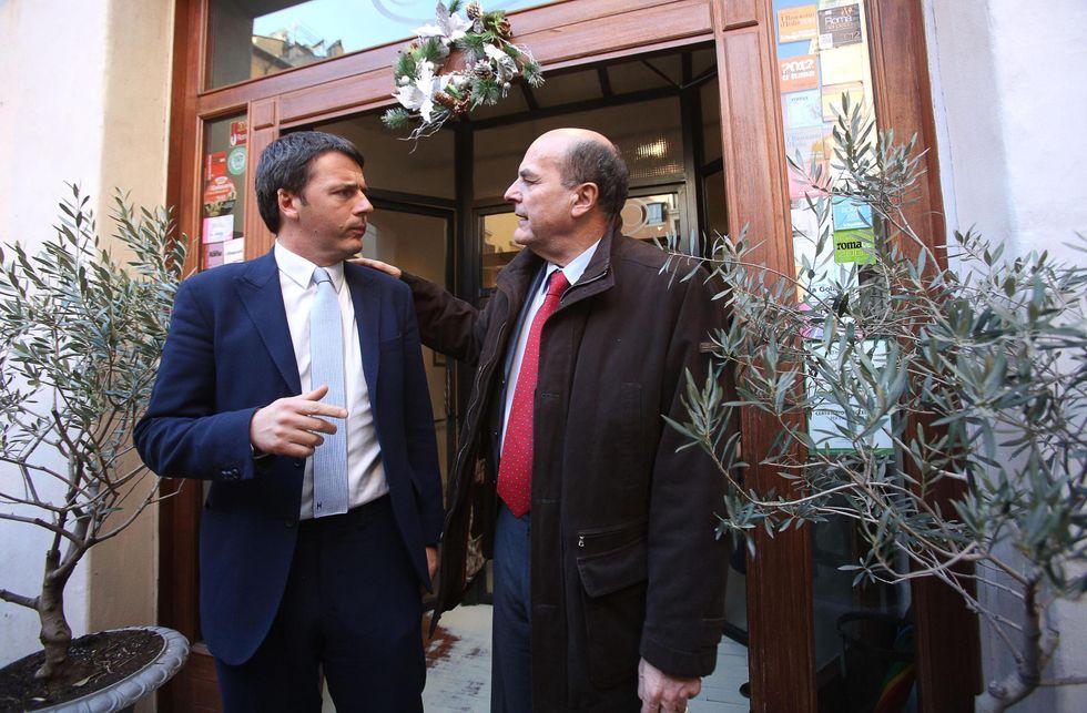 Renzi segretario, Bersani premier: suggellato il patto del grano