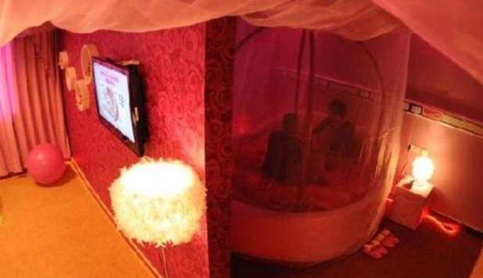 Cina: l'ospedale con le stanze del sesso