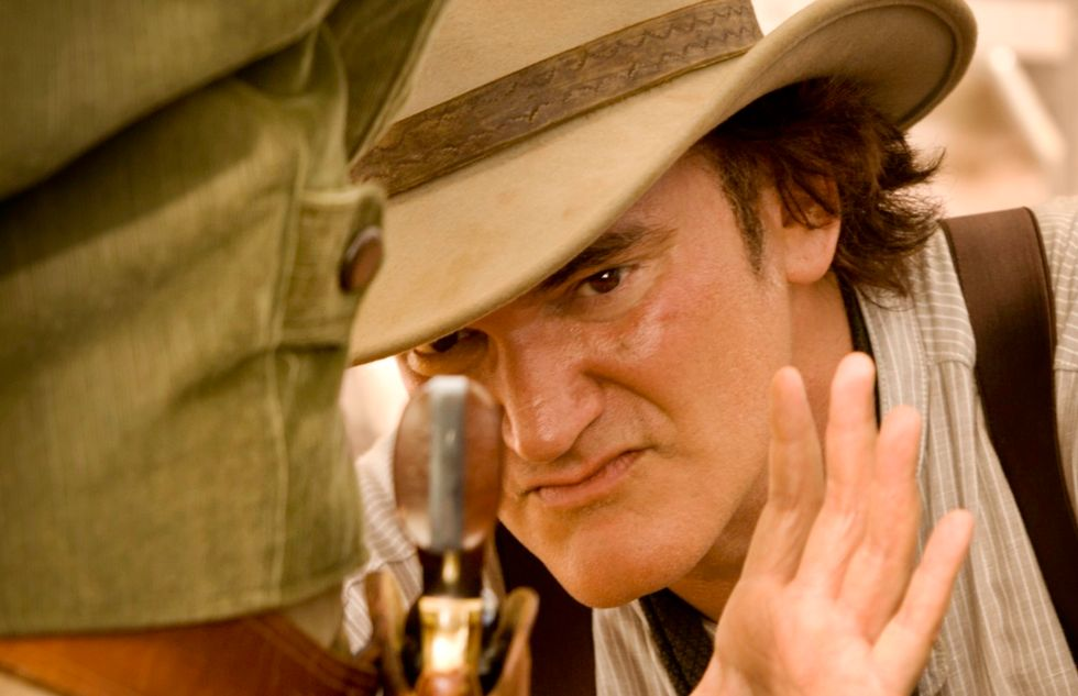Quentin Tarantino presenta Django: 'Devo tutto al cinema italiano'