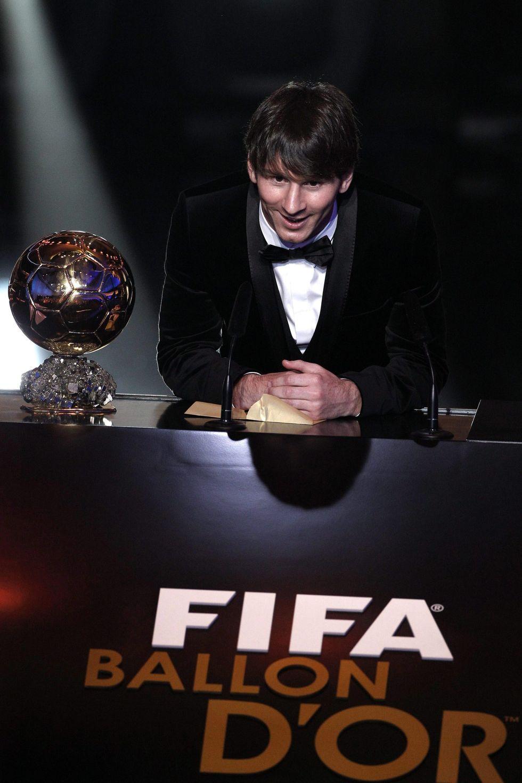 Messi, pallone d'oro da record