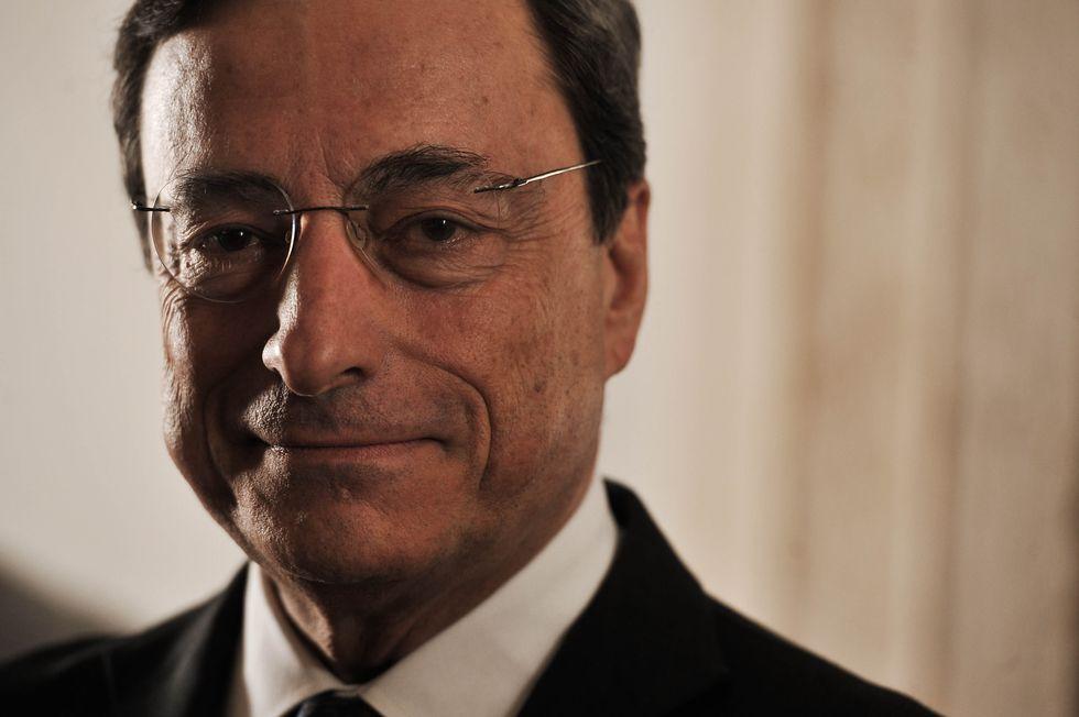 Mario Draghi rassicura l'Europa