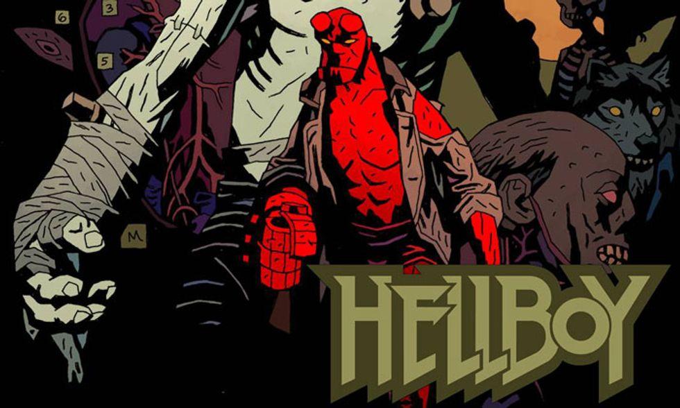 'Hellboy Special': la casa dei morti viventi: horror a fumetti