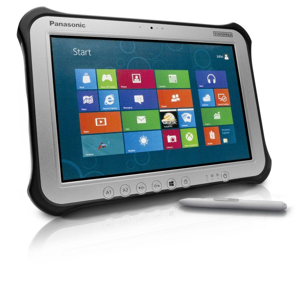 Panasonic Toughpad FZ-G1, il tablet Windows 8 Pro duro a morire