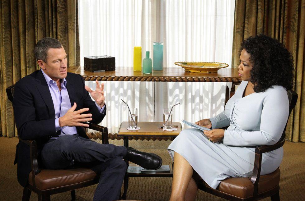 """La resa di Armstrong: """"Mi sono sempre dopato"""""""