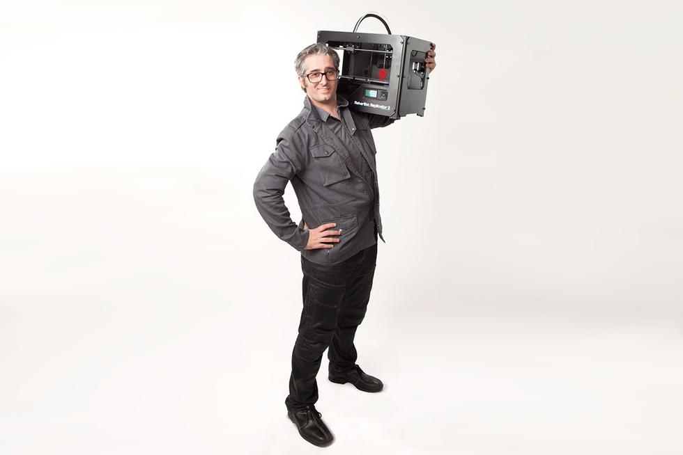 Bre Pettis: «Con le stampanti 3D inventiamo la realtà»