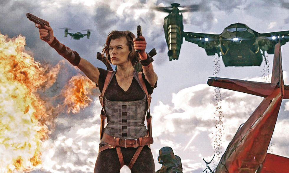 Dvd in edicola con Panorama, Resident Evil: Retribution