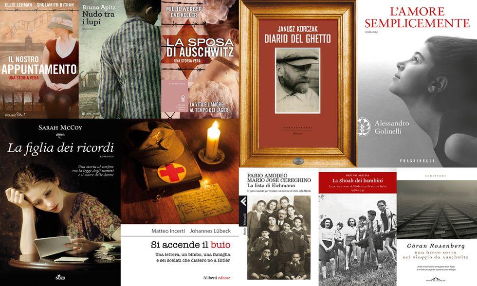 Giornata della Memoria, 10 libri per la ricorrenza
