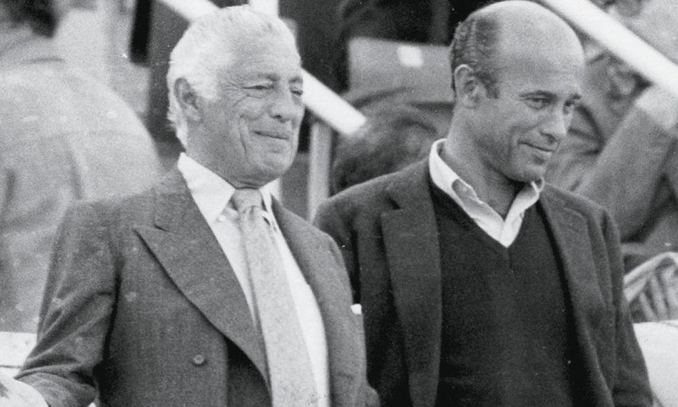 Io e l'Avvocato Gianni Agnelli