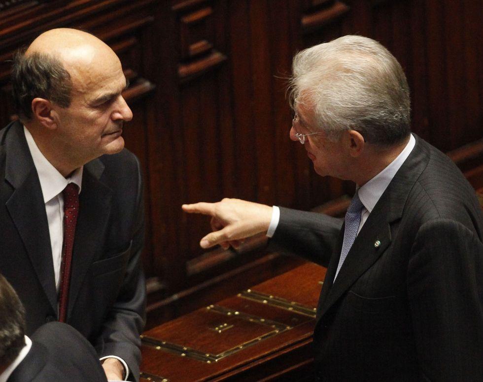 Mps-Pd e le 'favole' di Bersani (e Monti)
