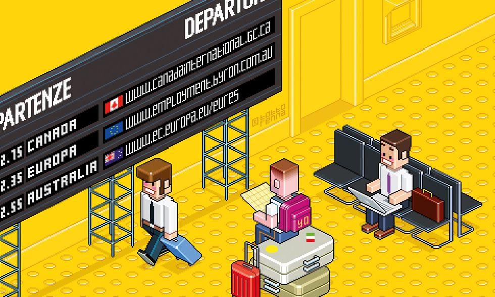 Come trovare un posto all'estero