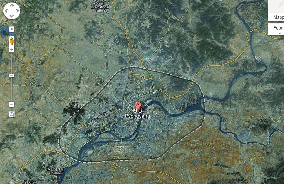 Le mappe della Corea del Nord arrivano su Google Maps