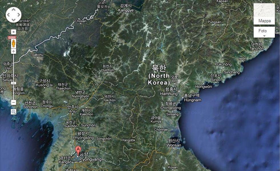 La Corea del Nord sbarca su Google Maps