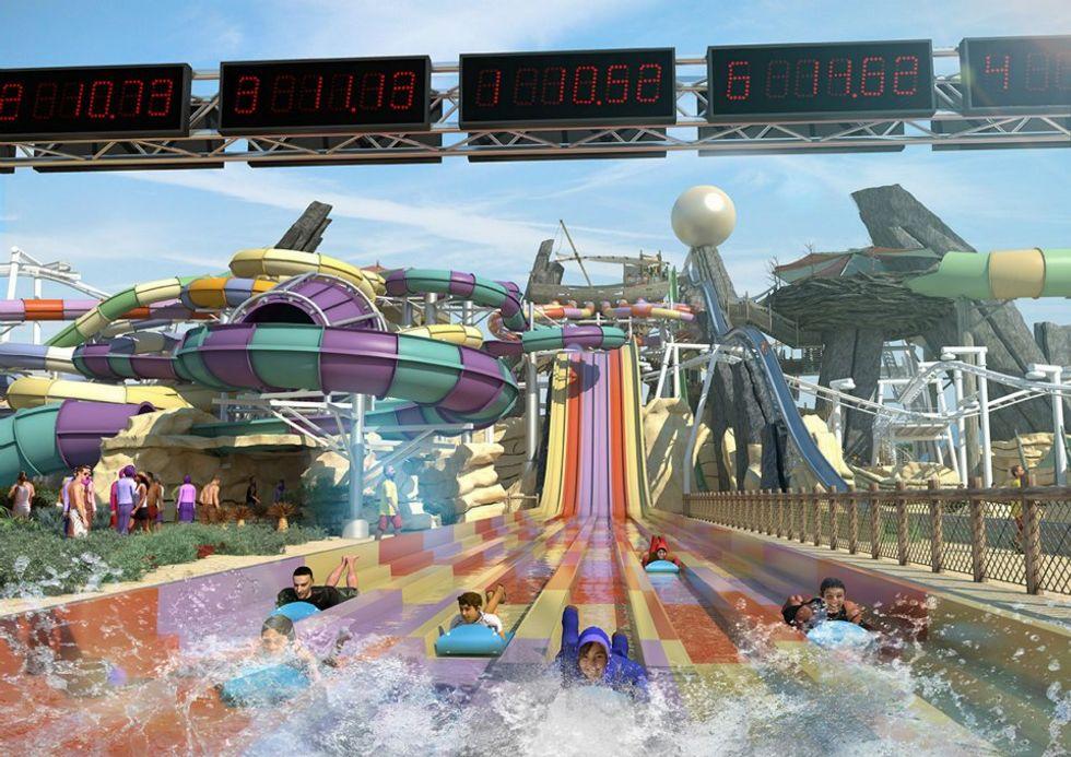 Yas Waterworld: finalmente aperto il mega parco acquatico di Abu Dhabi