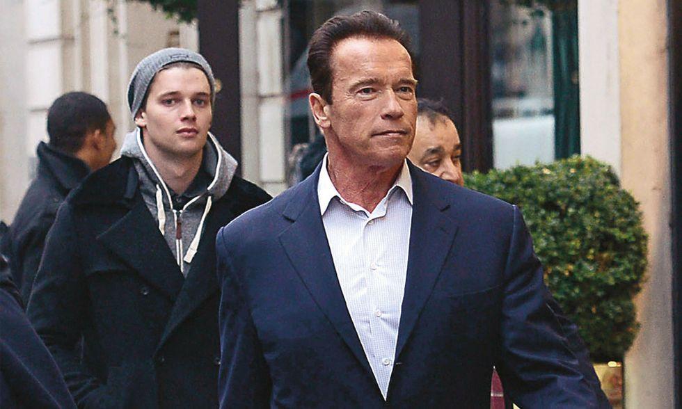 """Vacanze romane (e poi sci) per Arnold """"Schwarzy"""""""