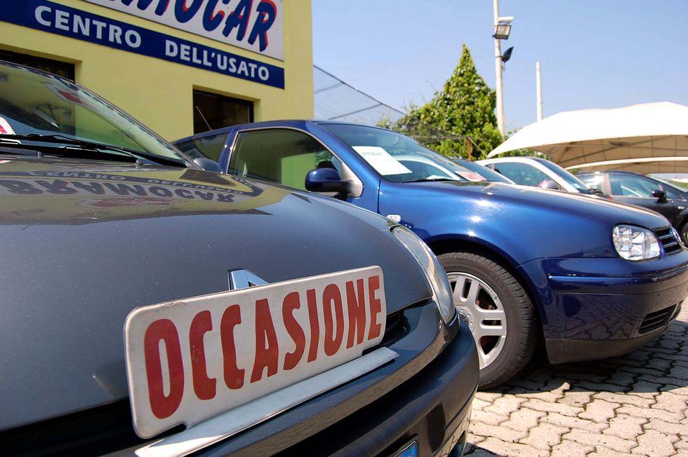 Auto usate, a gennaio boom di vendite