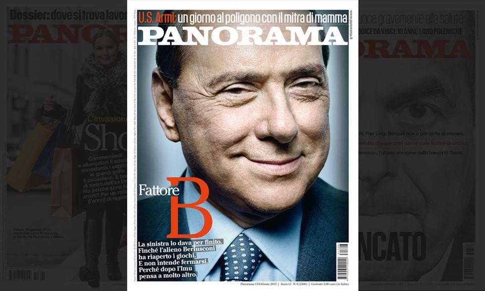 Panorama - Fattore Berlusconi
