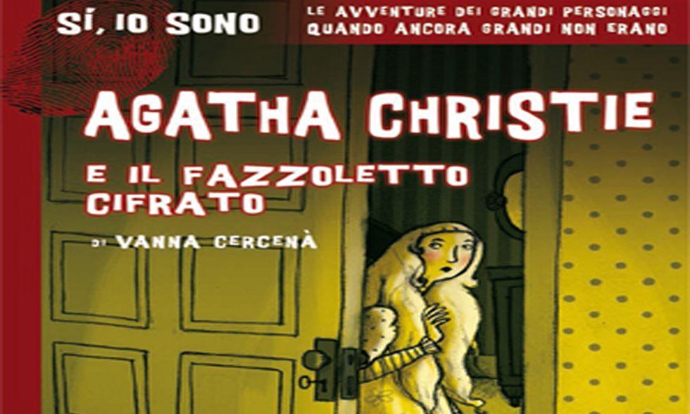 'Agatha Christie e il fazzoletto cifrato': la prima indagine della regina del crimine