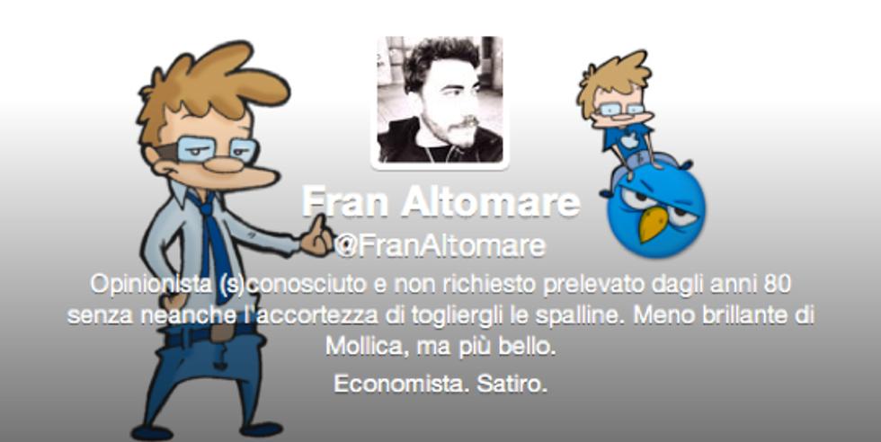 @FranAltomare: Per essere realmente felici bisognerebbe essere un po' stupidi