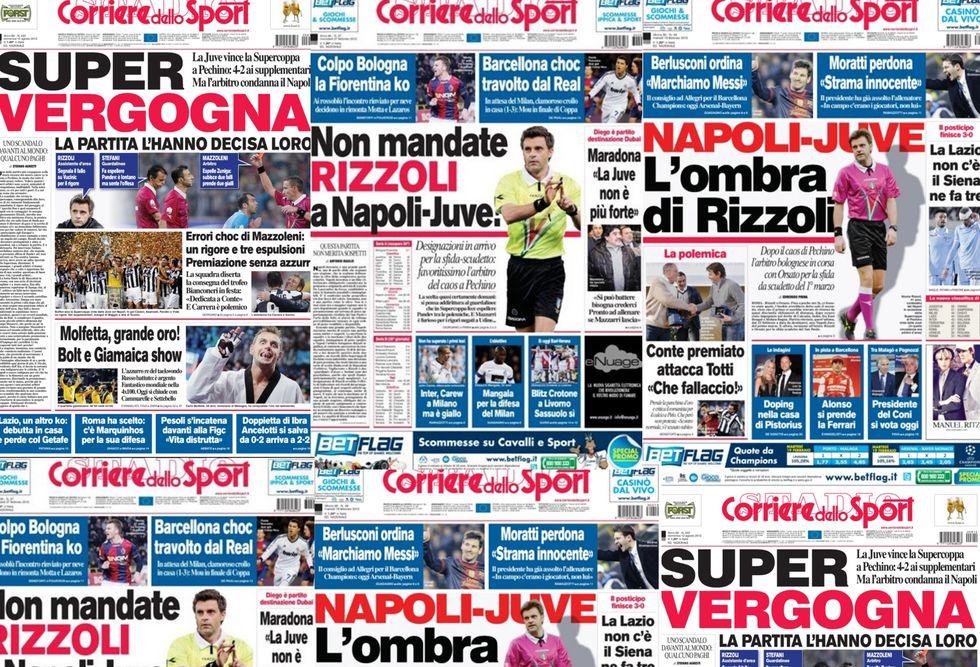 Veleni su Napoli - Juventus, gli azzurri non vogliono Rizzoli