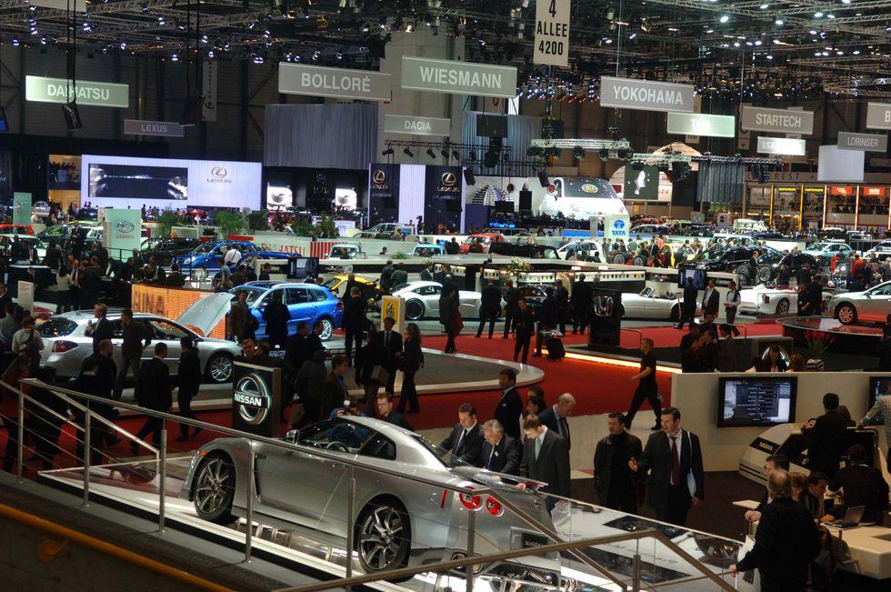 Auto, al Salone di Ginevra per rilanciare il mercato europeo