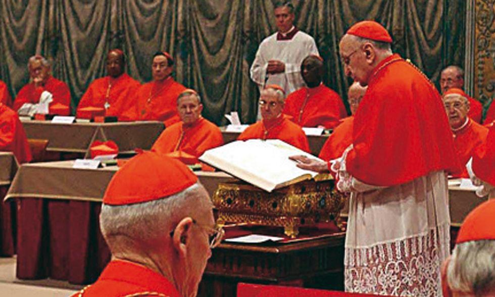 'Il conclave' di Fabrizio Battistelli
