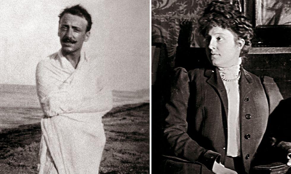 Gabriele D'Annunzio e Alessandra Carlotti di Garda, la Nike a cui il vate donò corpo e cervello