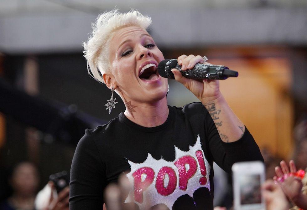 X Factor Usa. Pink giudice al posto della Spears?