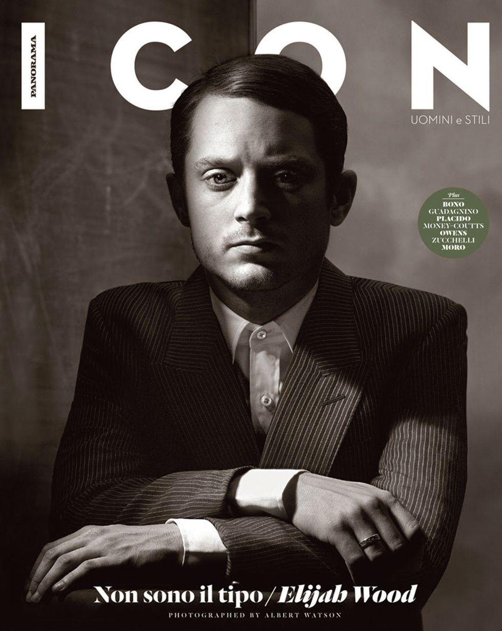 Elijah Wood: lezioni di stile. Leggi online il nuovo numero di Icon