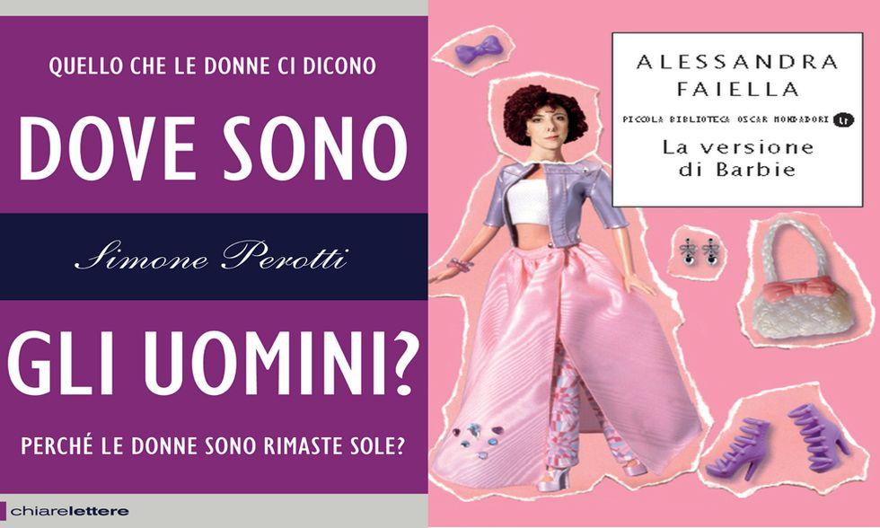 Simone Perotti, 'Dove sono gli uomini?', e Alessandra Faiella, 'La versione di Barbie'