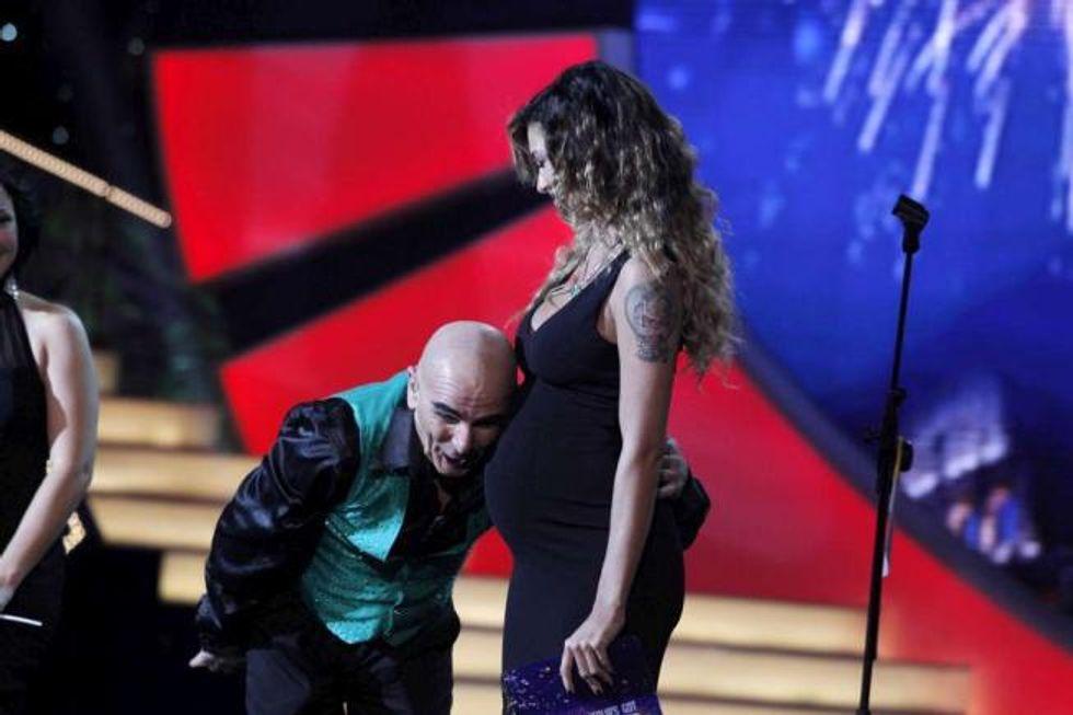 Belén Rodriguez ricoverata in ospedale ma subito dimessa