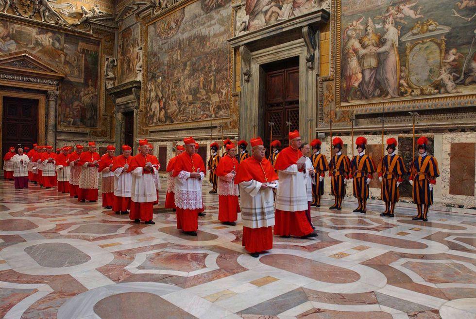 Conclave - il diario - 8 marzo