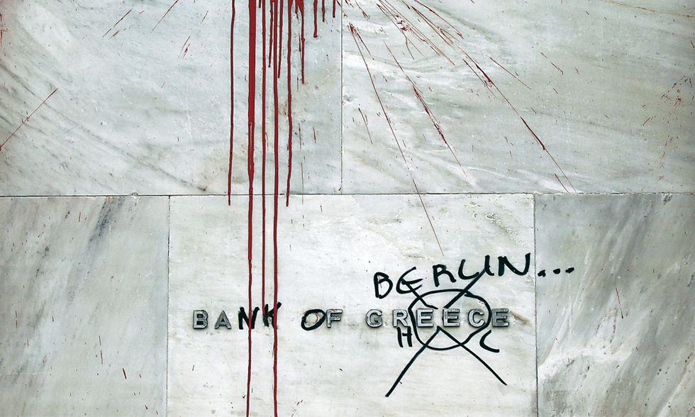 Crisi greca, a furia di tagliare Atene è finita così…