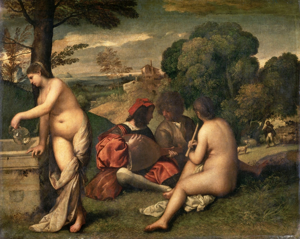 Rome open doors to Tiziano exhibition