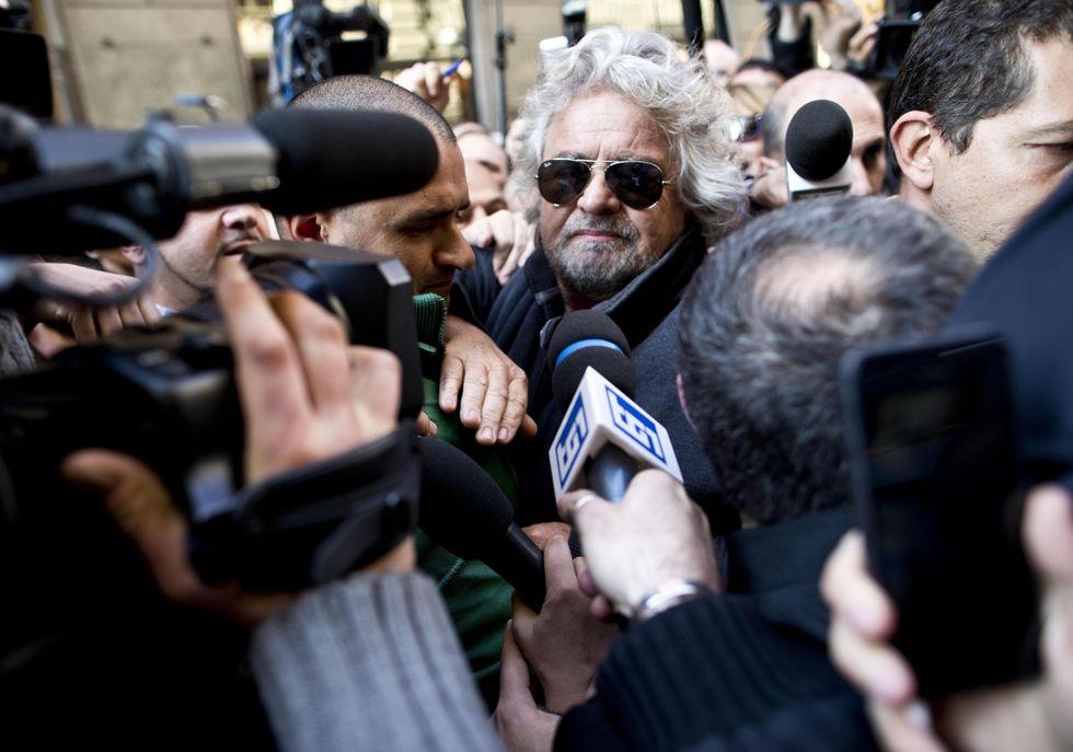 La casta (dei giornalisti) contro Grillo