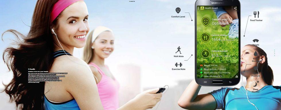 Samsung Galaxy S4 ti fa da medico di fiducia con S Health