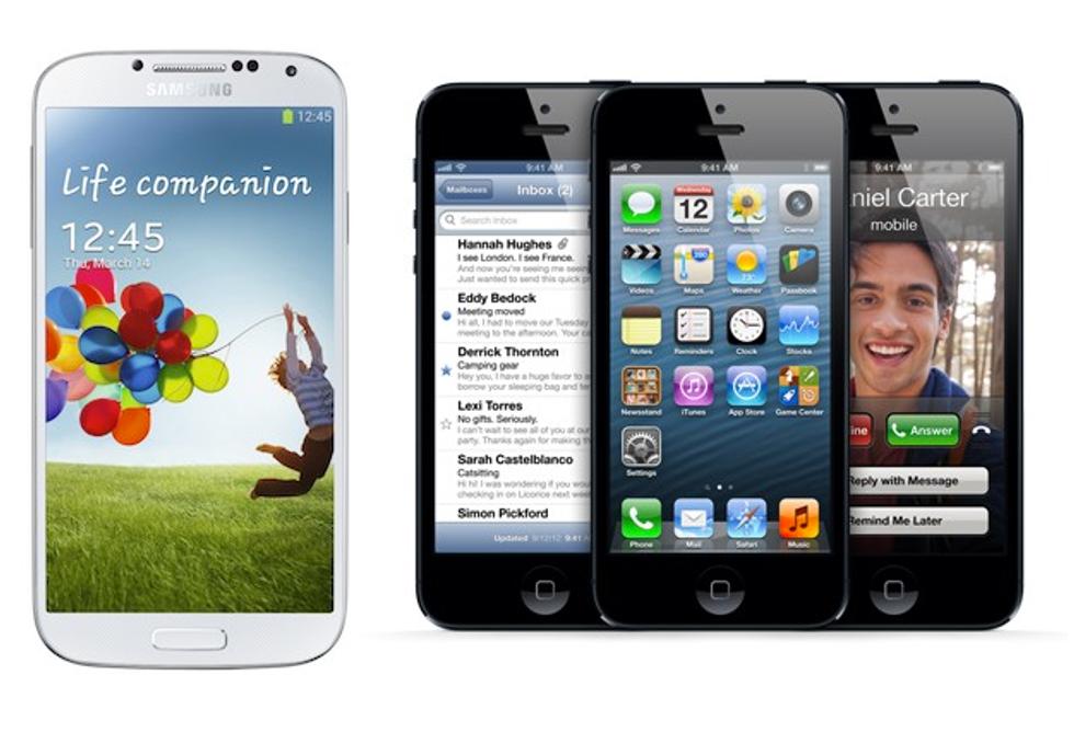 Samsung Galaxy S4, è meglio dell'iPhone 5 (e del 5S)?